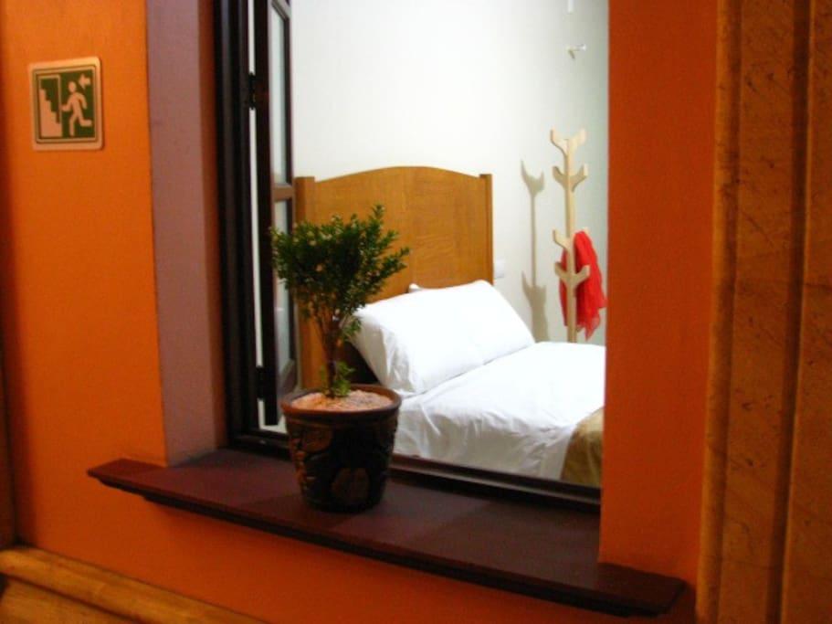 Habitación privada confortable, ideal para tu descanso