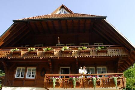 Ferien auf wunderschönem Schwarzwaldbauernhof - Durbach