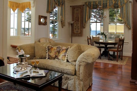 1/2 Block to Ocean-Sea View Cott.-Full Service Inn - Pacific Grove - Bed & Breakfast