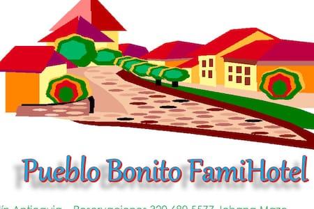 Jardin Antioquia FamiHotel Pueblo Bonito - Jardín