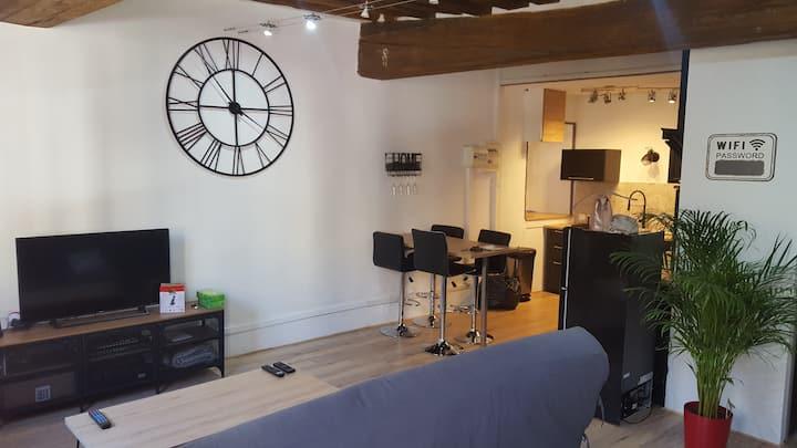 superbe appart 55 m2 au coeur de Semur en Auxois