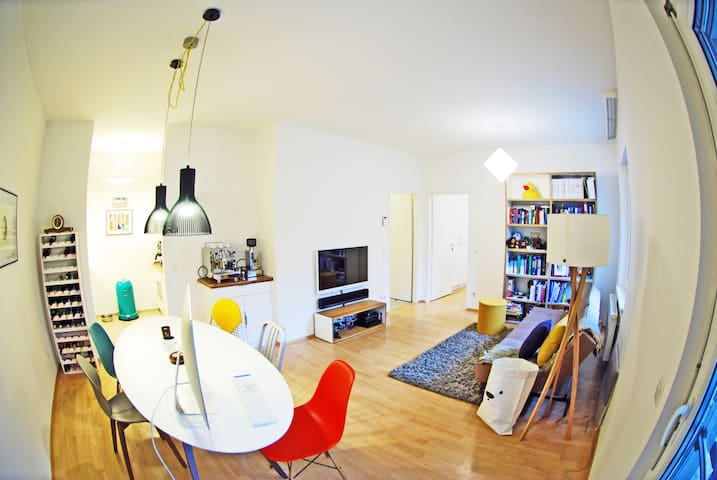 Quiet, Central, Backyard & Pool - Vienna - Apartamento