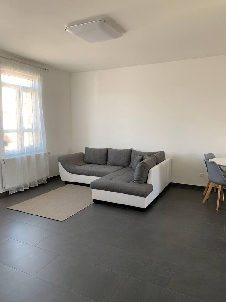 Wohn- und Esszimmer Wohnung 3 Obergeschoss