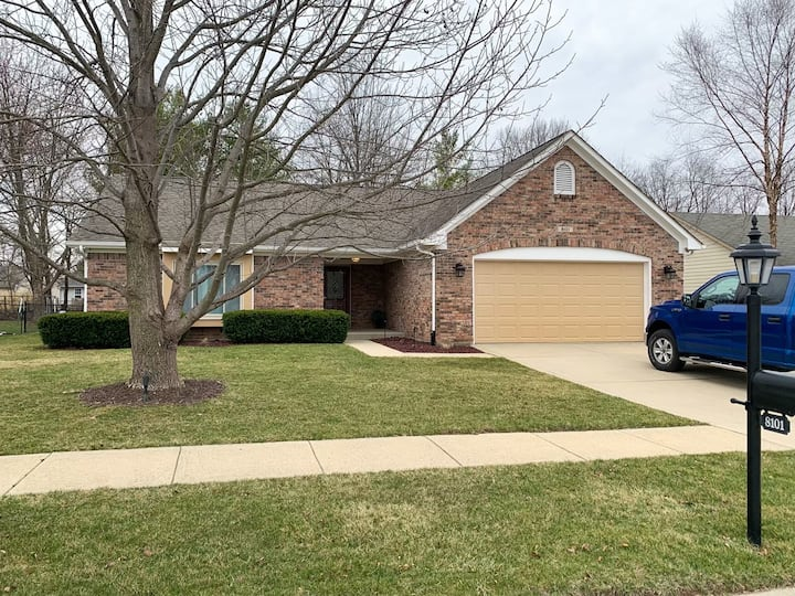 Entire 1400 Square Foot 3 Bedroom Home.