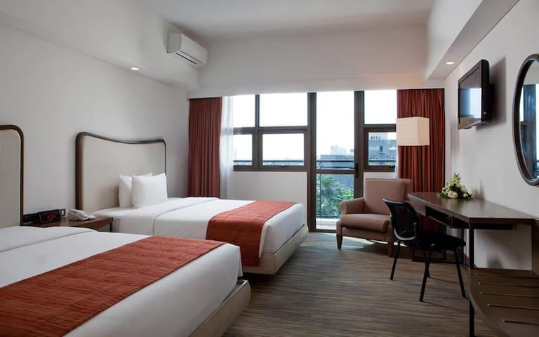 Amazing condotel in Quezon City - 2 double beds