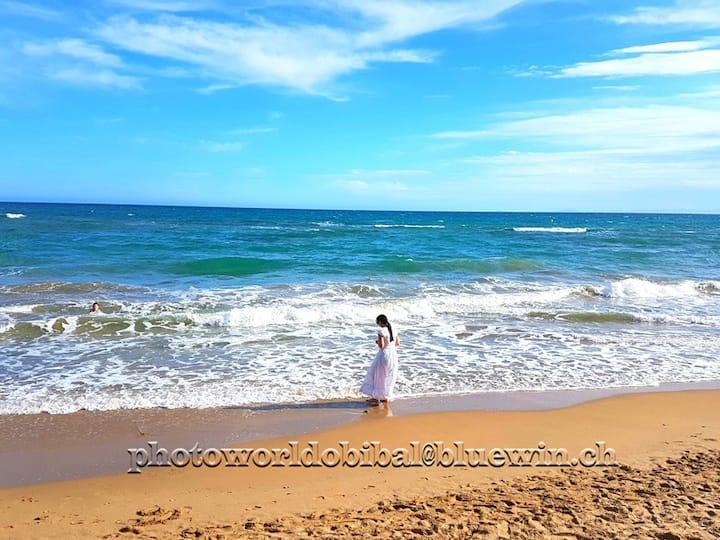 Best Beach+Best House+Best solarium+Best pool:)