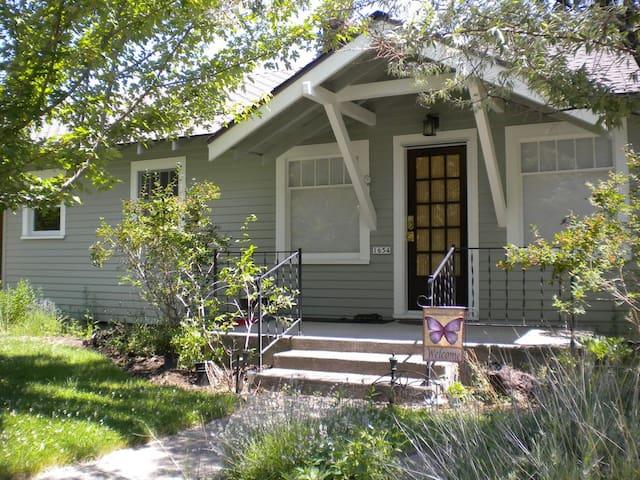 the Westlake Cottage in summer