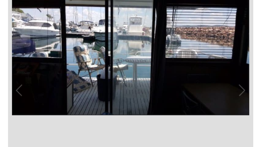 Houseboat - Nelson Bay Marina - Nelson Bay - เรือ