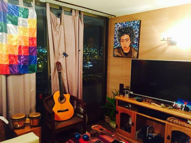 Acogedor y lindo Dpto cerca de playa y Mall - Iquique - Apartment