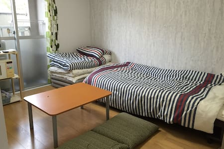 Osaka Cozy clean room B. Namba.Nara.Kyoto.Kobe. - Ōsaka-shi - Appartamento