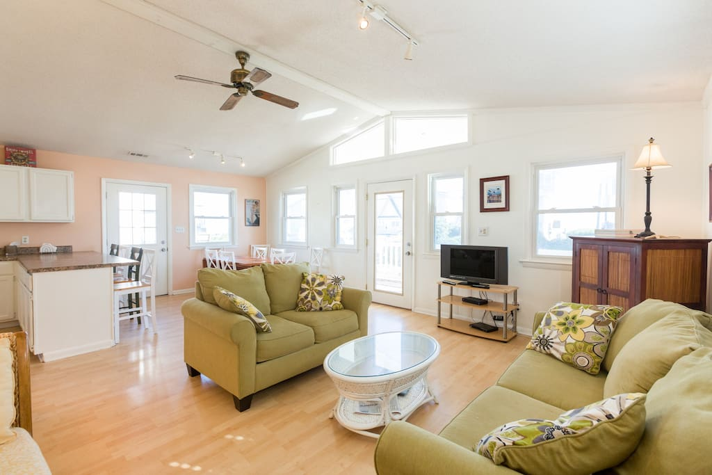 Bright spacious great room