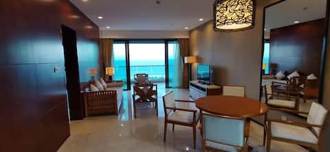 270度海景175平两室精装亲子家庭套房/近清水湾/呆呆岛/猴岛