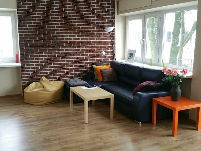 Cosy apartament on green Żoliborz