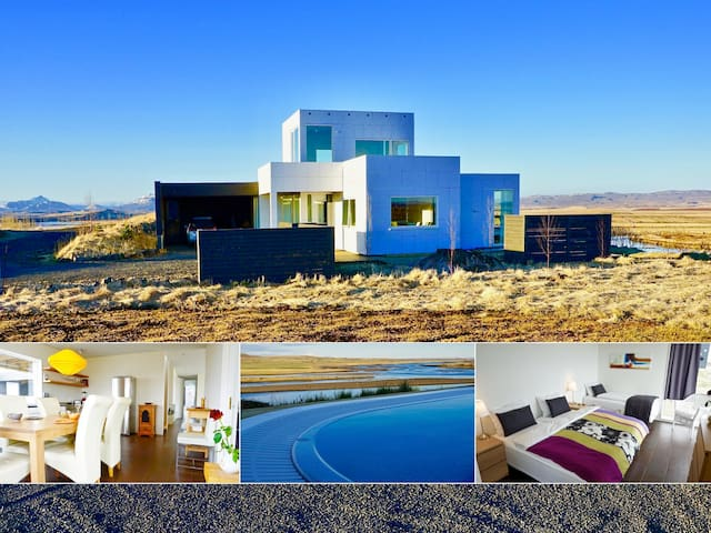Luxury, Modern, River/Mountain view, Golden Circle - Laugarás