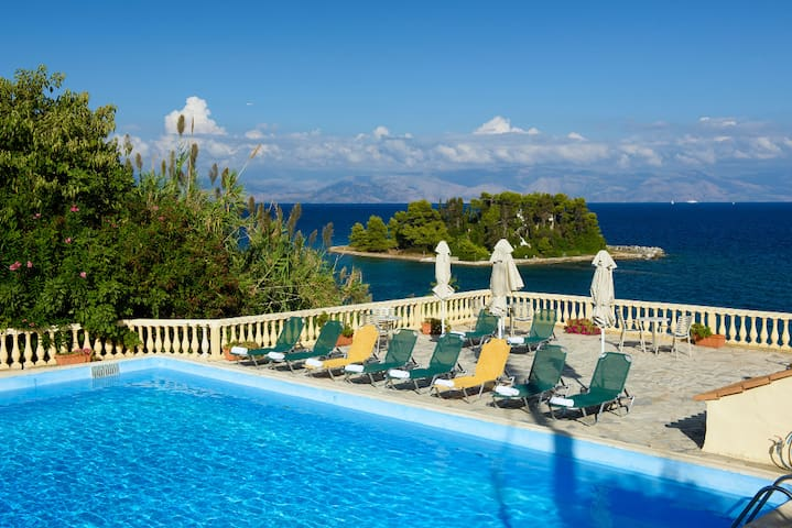 PONTIKONISI Hotel-Double room with sea view