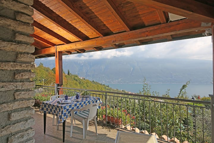 With balcony overlooking the lake near the centre