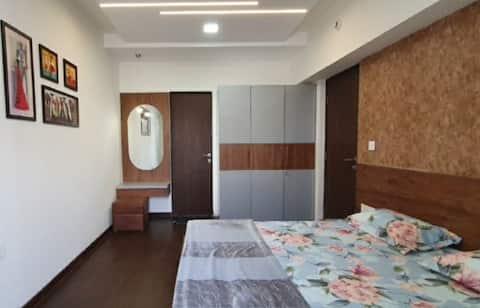 Designer 1bhk home, 15th floor high life