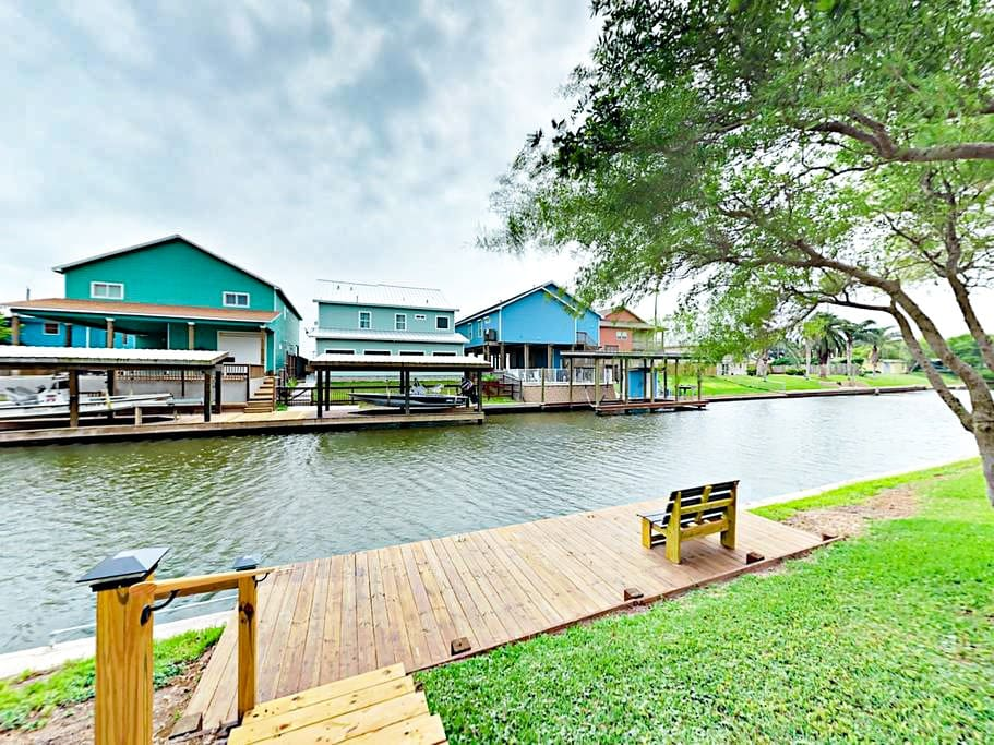 Soak up canal views just steps from your front door.