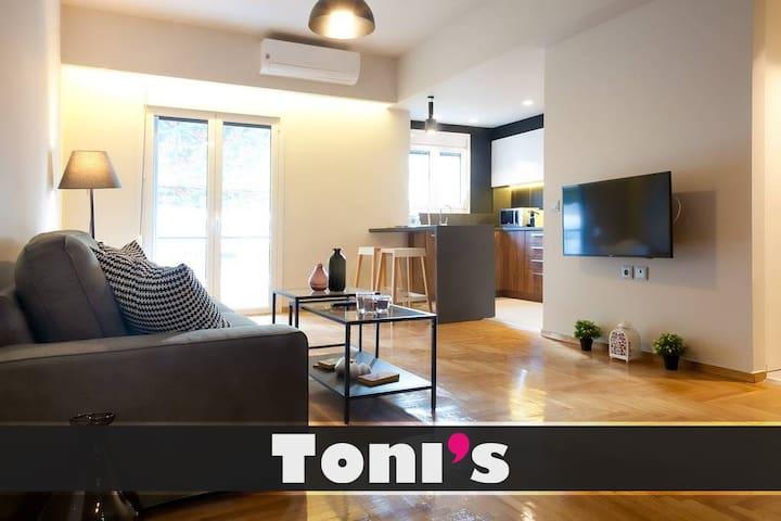 Toni's - 2BD Luxury Apartment on 5th floor near Riviera
