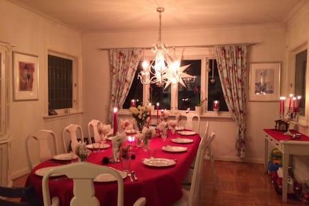 Family house+apartm. 230m2 near BG - Bergen