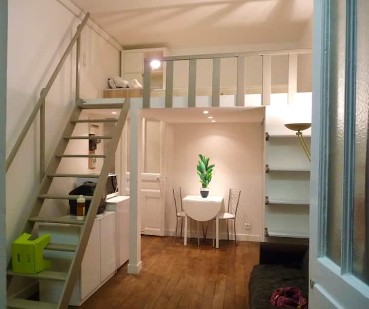Magnifique Loft de 28 m² au coeur des Batignolles
