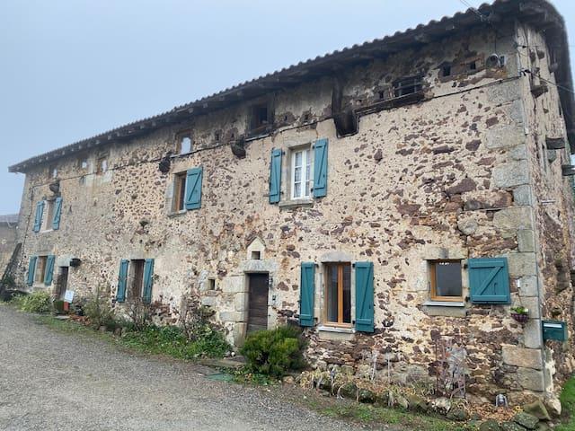 Bachellerie 17th century stone farmhouse