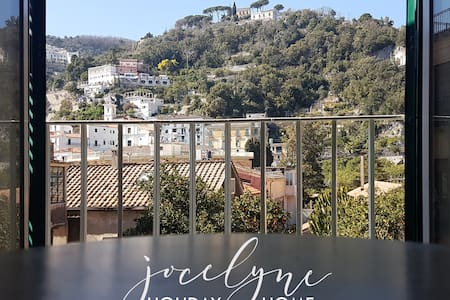 Jocelyne  in Vietri  - a gateway to Amalfi coast