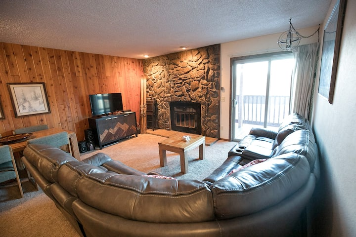 Mountain Condo on Bus Line, Walkable to Downtown