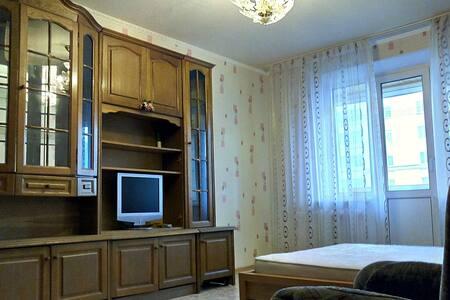 Светлая квартира рядом с Набережной Волги - Tver' - Apartment - 2