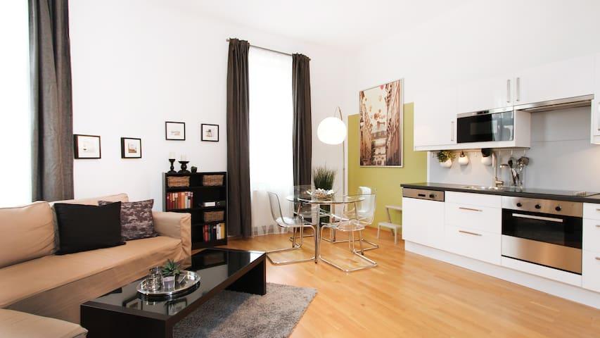 Central Apartment Vienna Prater- 45m2