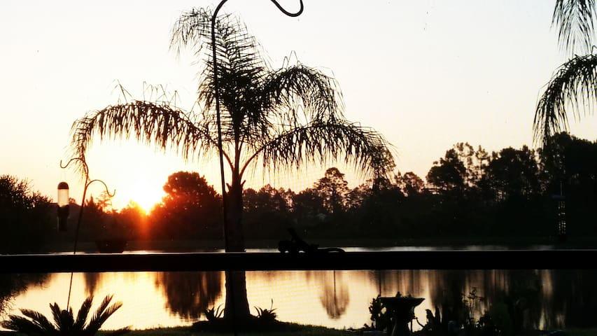 Cozy Waterview Safari Retreat