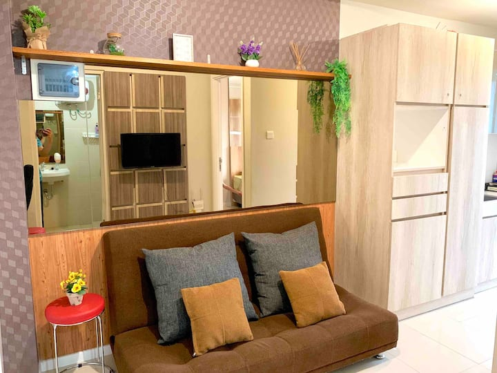 Dazzling 1 BR Apt in the Heart of Bandung