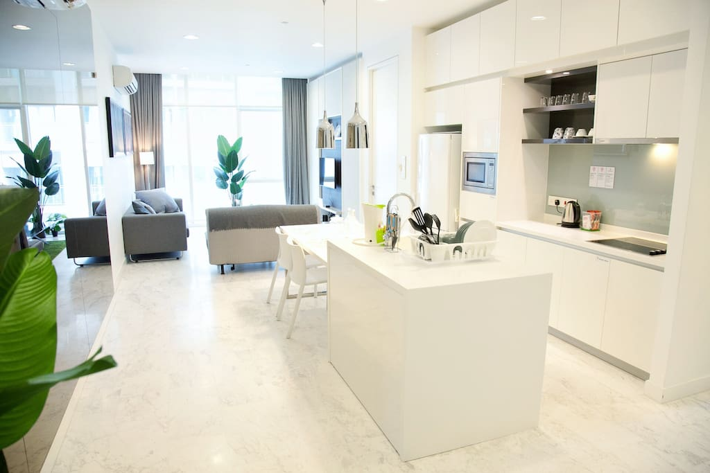 Premium suites with 2BR+2Bath, Spacious - 1055sqft
