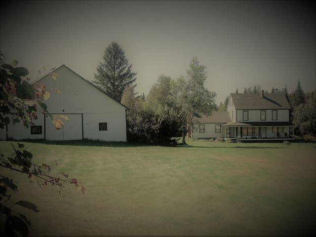 Adirondack Mountains Farmhouse