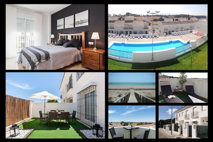 Luxury house with swimming pool, Vejer