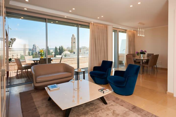 King David penthouse vacation apartment