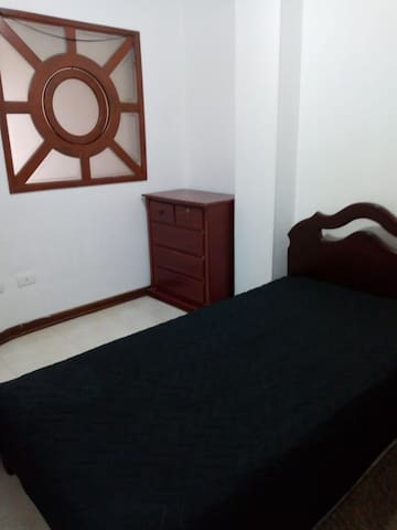 Nice bedroom in a beautiful location town