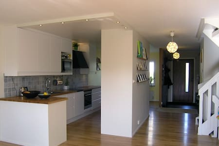 Homey and child friendly townhouse near Stockholm