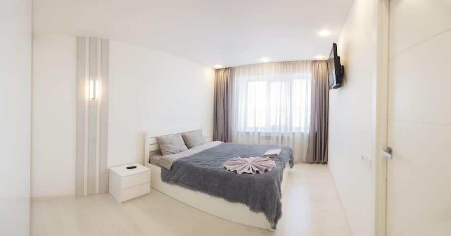 Riverside apartment in Podol area