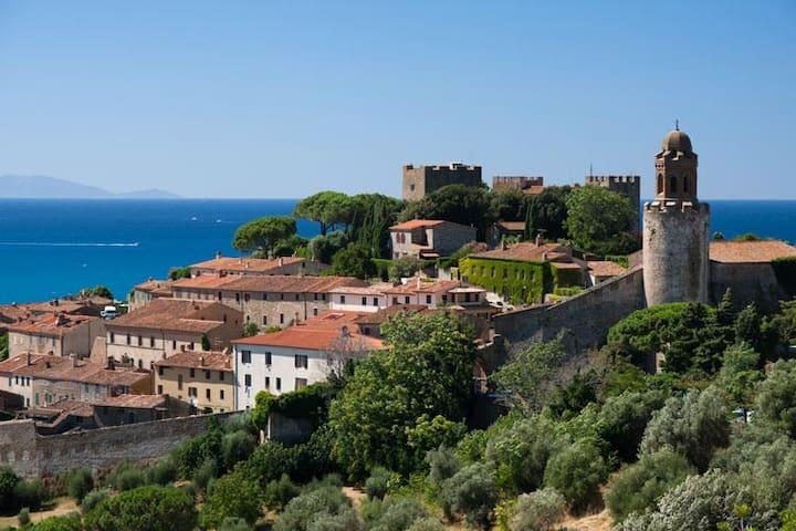Toscana mare, Castiglione della Pescaia - Castiglione della Pescaia - Apartament