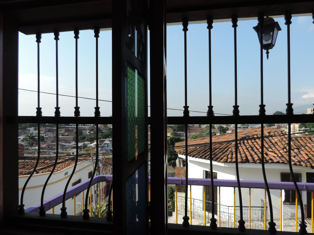 Apartment view.