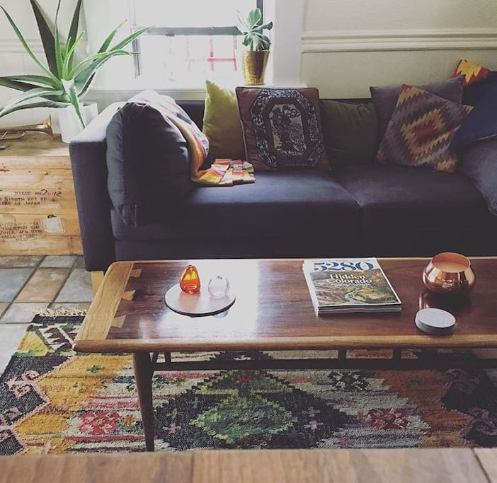 RiNo:Curtis Park: Eclectic One Bed