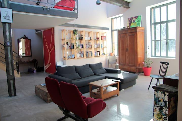 Beau loft spacieux et lumineux - Saint-Étienne - Loft