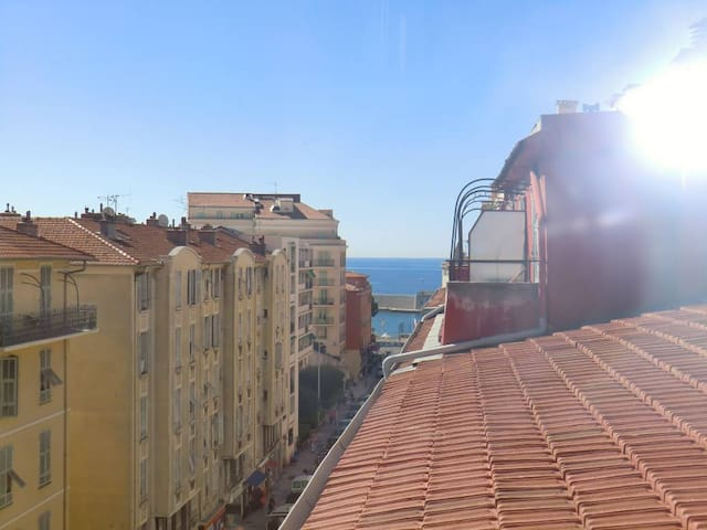Dreaming flat in the port with terrace sea view - Nice - Lejlighed