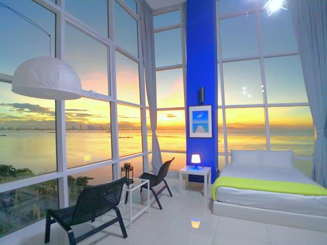 ☀ 超级无敌海景日出海边套房 180° Sunrise Seaview Duplex 8