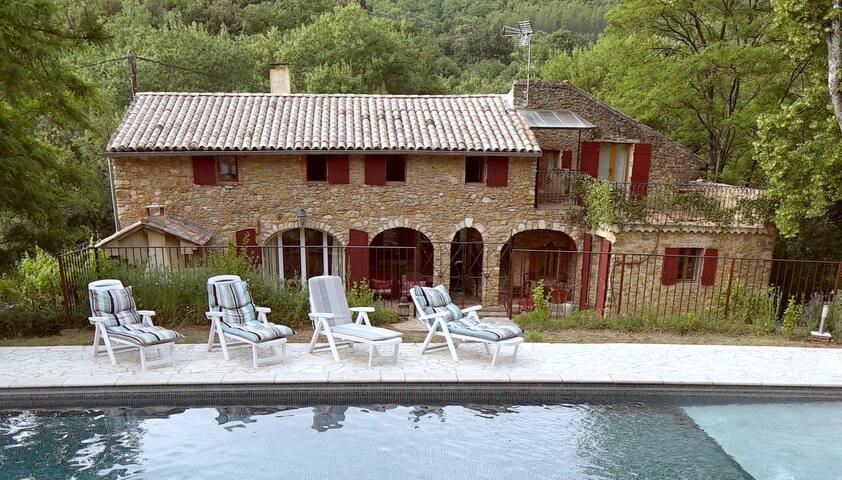 ch d'hôte terrasse privé vue dégagé