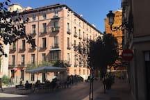 El barrio - Plaza Santiago (1min)
