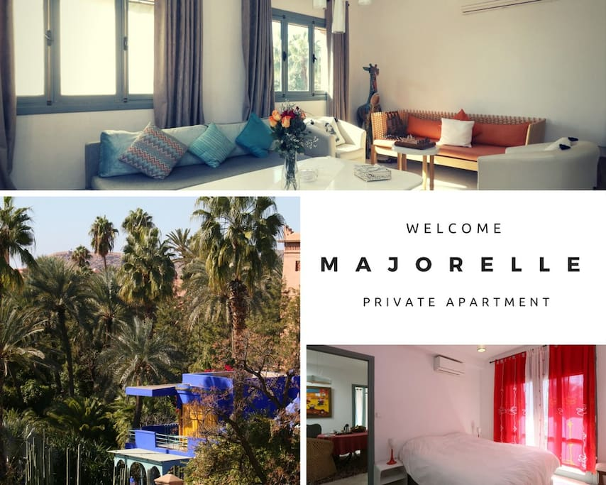 My Balcony At Majorelle Private 2 Br Apartment
