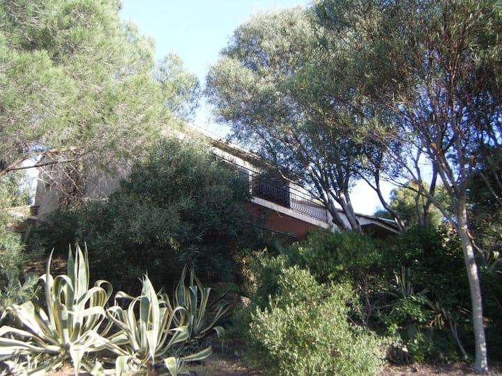 Location maison à 150m de la plage, 1200m² jardin