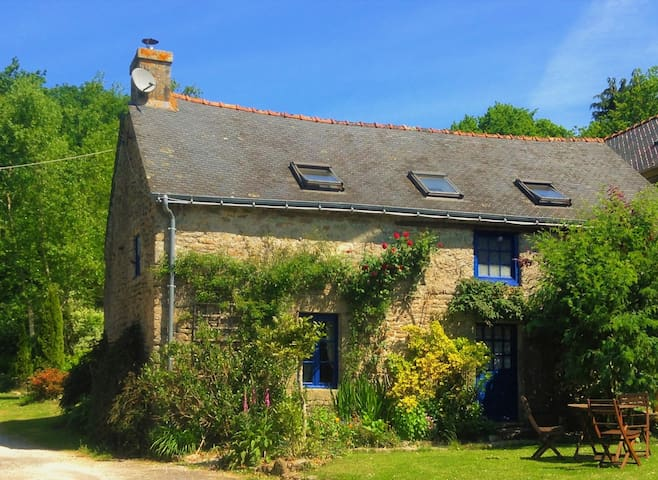 Mimosa Cottage - Morbihan, Brittany - Langonnet - Huis